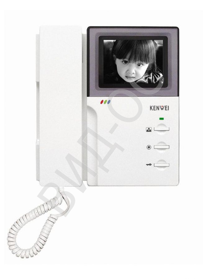 KW-4HPTN черно-белый монитор